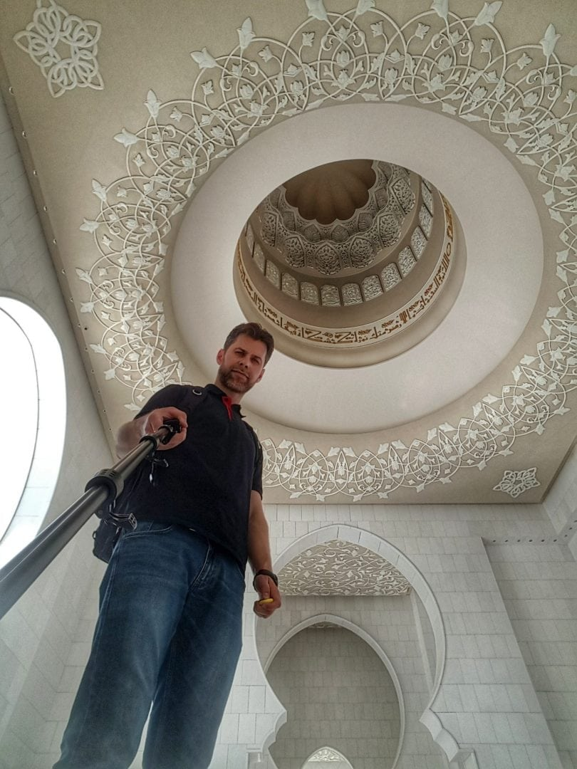 جامع الشيخ زايد - سيلفي 2