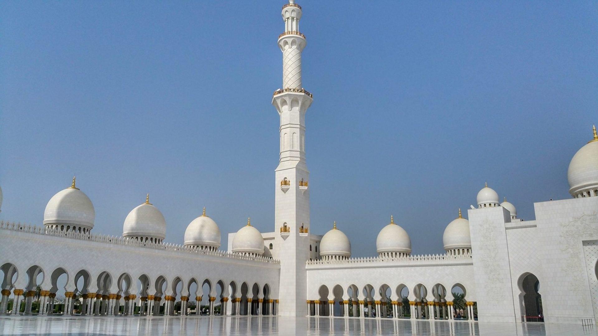 جامع الشيخ زايد - من الخارج