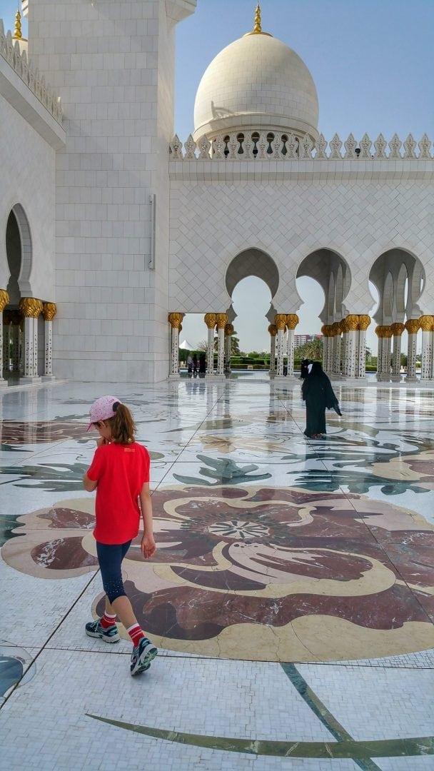 جامع الشيخ زايد - فسيفساء مذهل