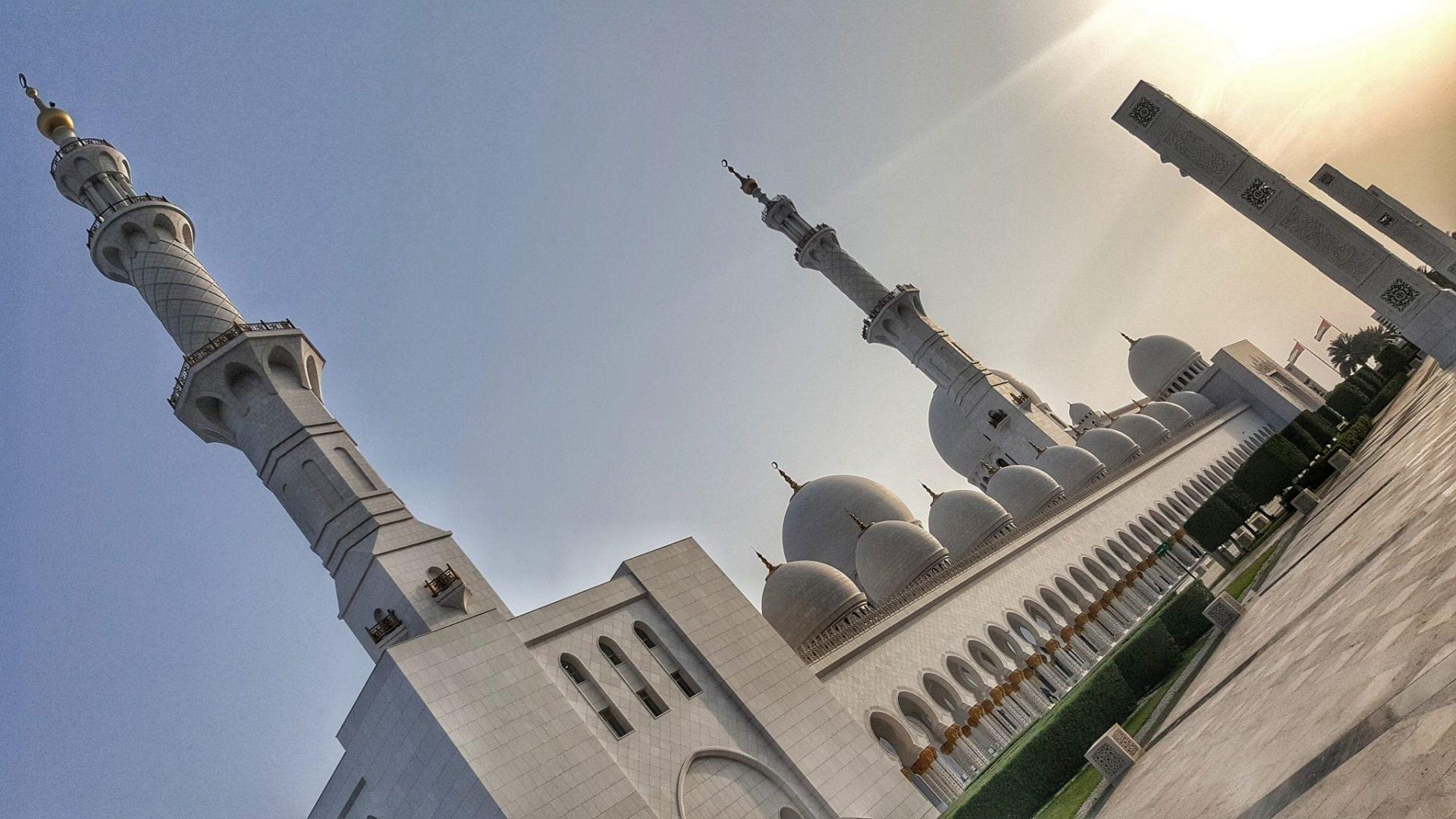 جامع الشيخ زايد - مائل