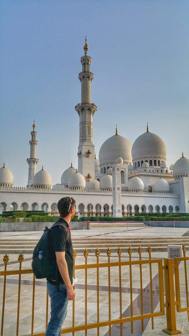 جامع الشيخ زايد - وداعا على أمل اللقاء مرة أخرى