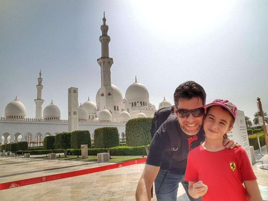 المسجد الكبير, ابو ظبي, الإمارات