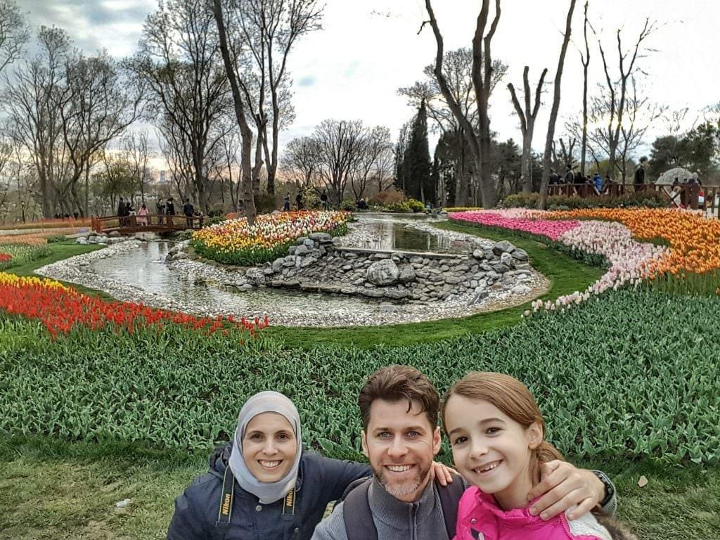 في حديقة اميرغان في اسطنبول, تركيا