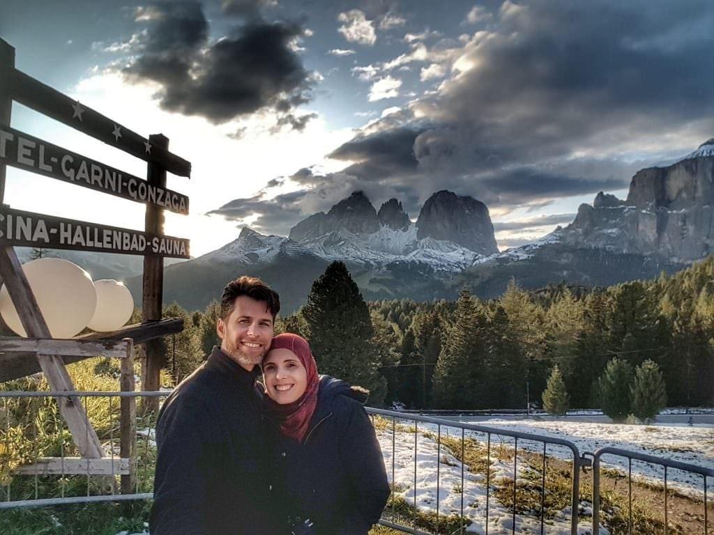 في جبال الدولوميتي, شمال ايطاليا