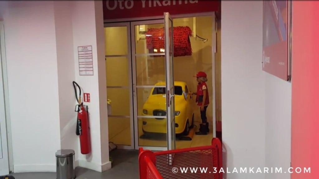 فعالية غسل السيارات