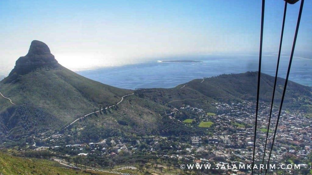 احد المطلات الرائعة من أعلى جبل الطاولة Table Mountain