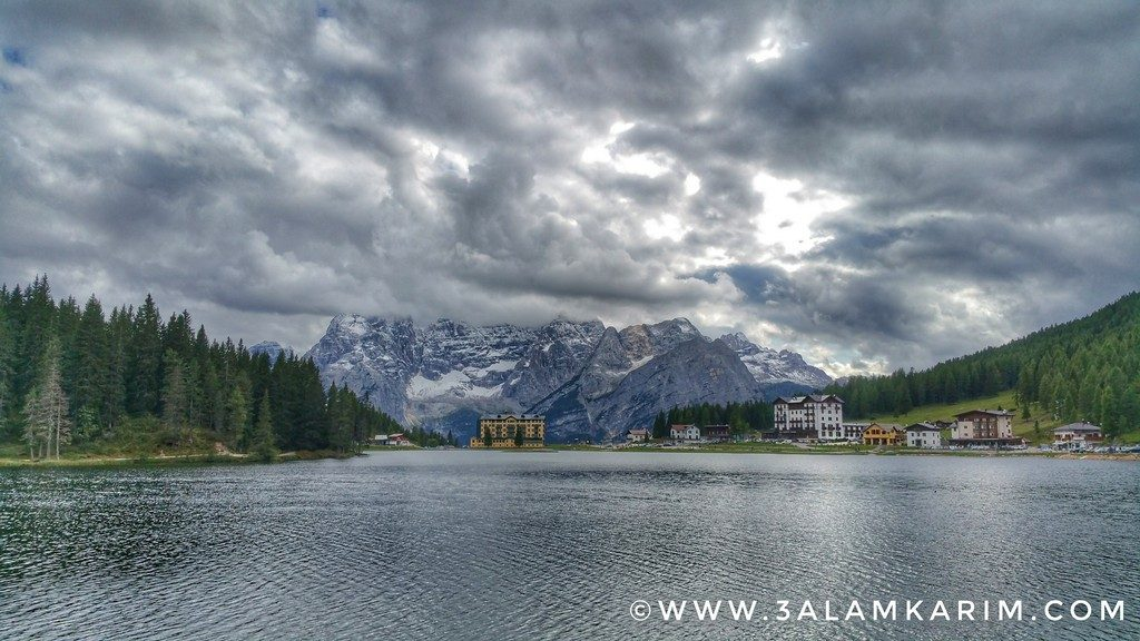بحيرة ميزورينا Lago Di Misurina