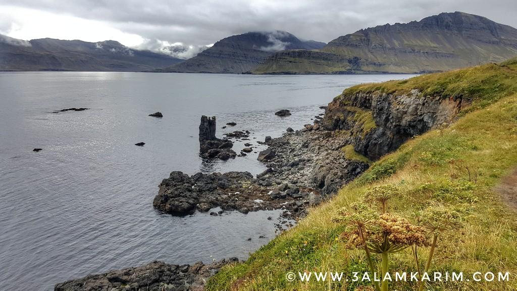 أيسلندا - صورة من مسار Easter Cave