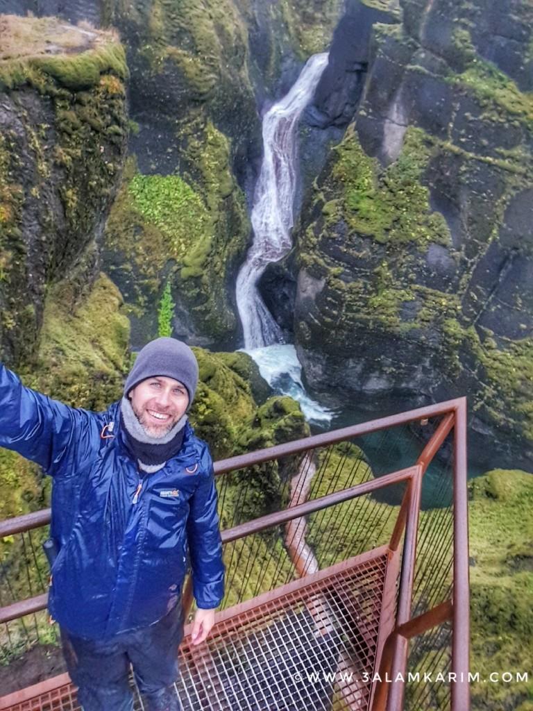 أيسلندا - Fjaðrárgljúfur