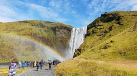 أيسلندا - Skógafoss