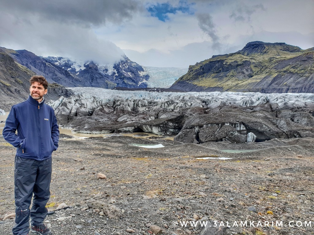 أيسلندا - Svínafellsjökull