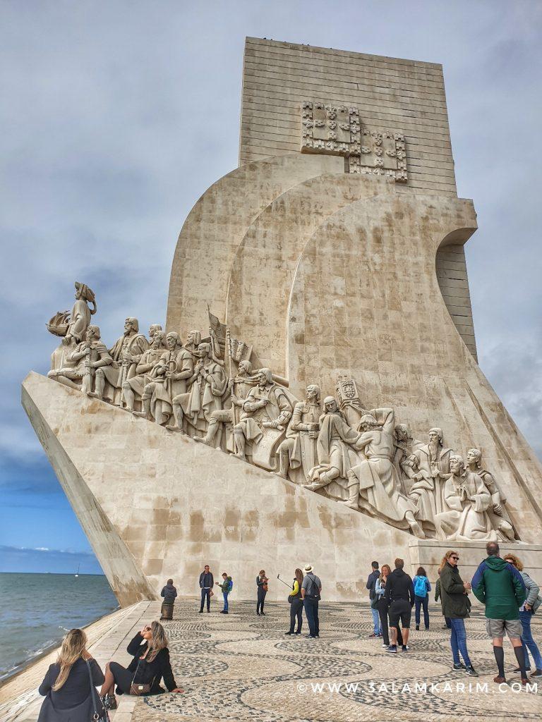 تمثال الاكتشافات Padrão dos Descobrimentos - رحلة إالى البرتغال