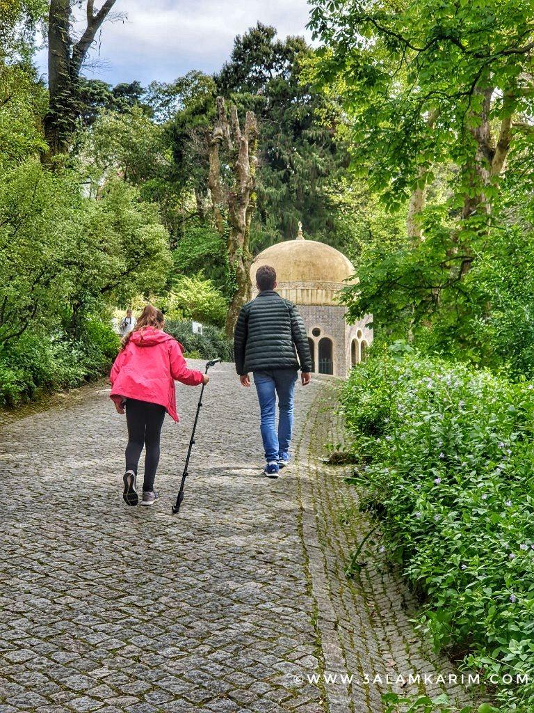 سنترا - حدائق قصر بينا - رحلة إالى البرتغال