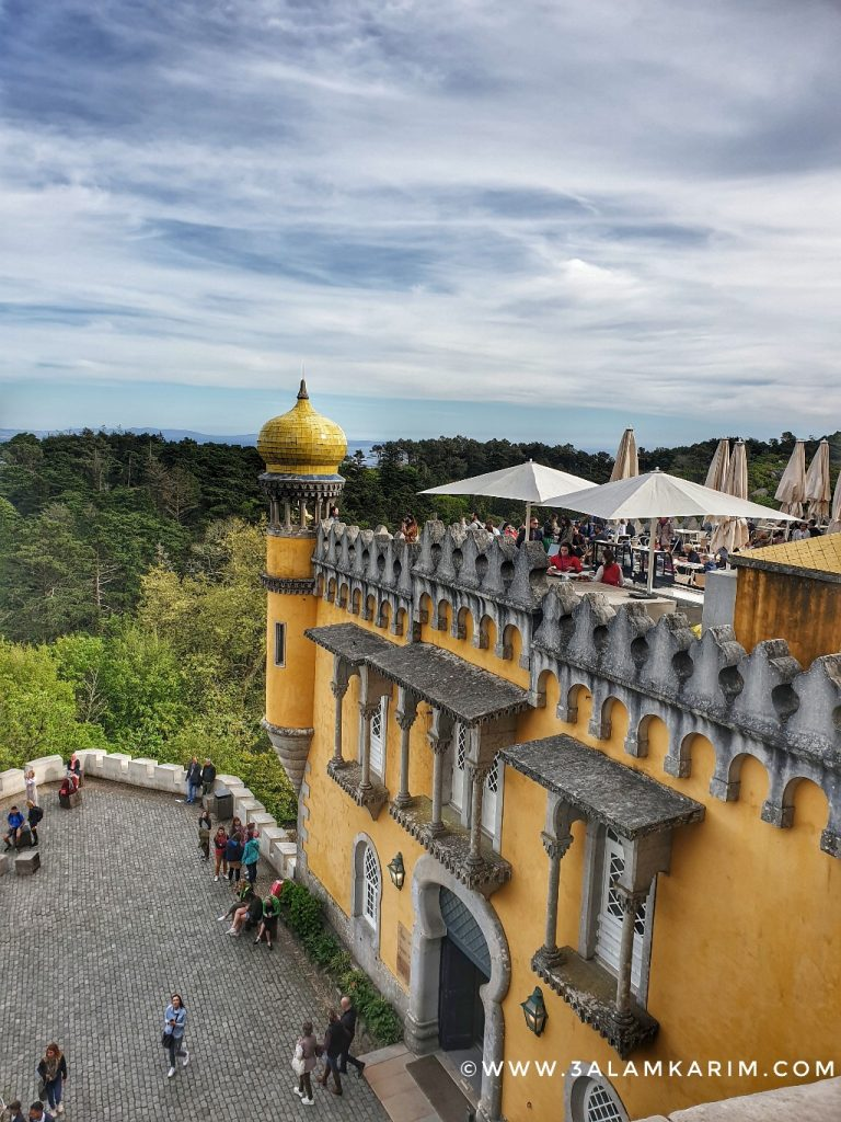 سنترا - قصر بينا Palacio De Pena - رحلة إالى البرتغال