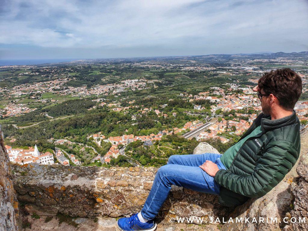 سنترا - قلعة الموريين - رحلة إالى البرتغال