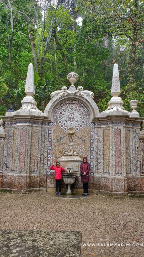 سنترا - كينتا دا ريجاليرا - Quinta Da Regaleira - رحلة إالى البرتغال