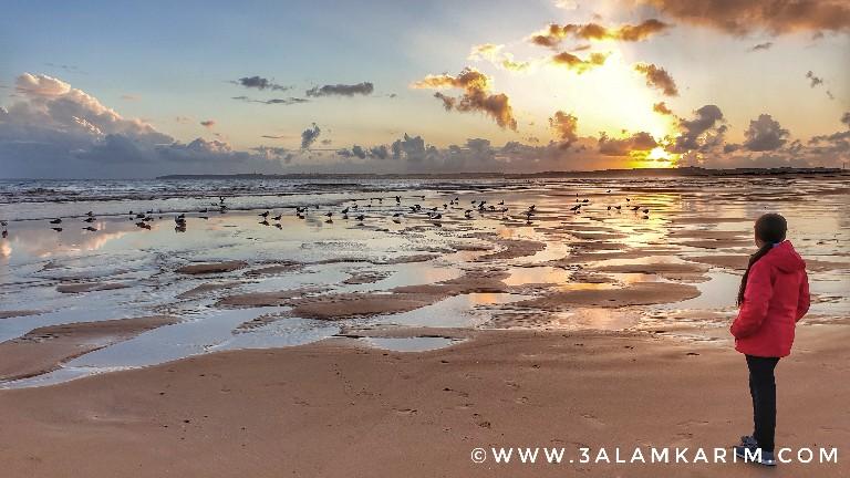الغربه Algarve - شاطىء الاخوة الثلاثة