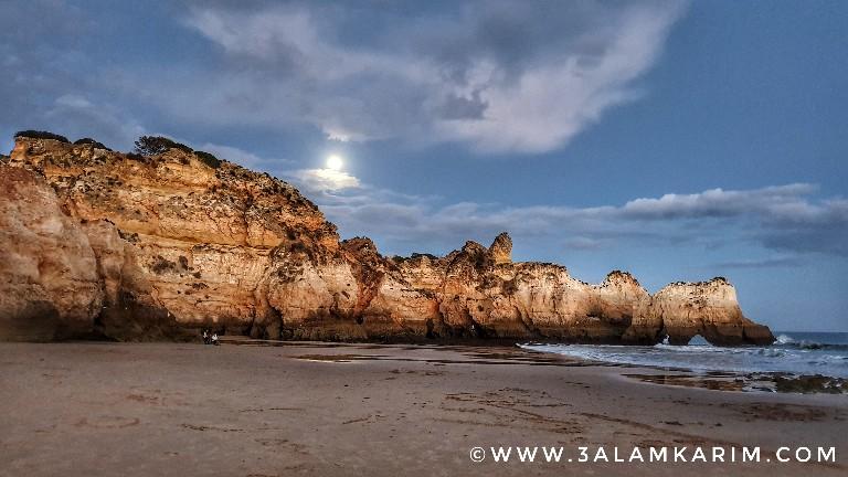 الغربه Algarve - شاطىء الاخوة الثلاثة - 2