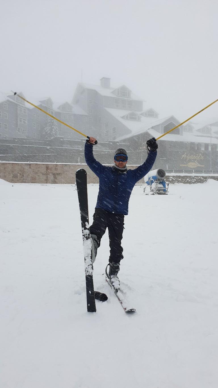 التزلج على الثلج في تركيا